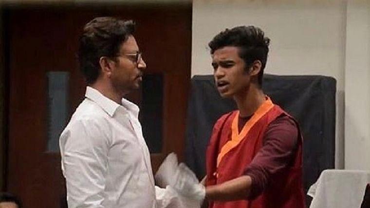 Irrfan Khan's son, Babil, hints at movie debut