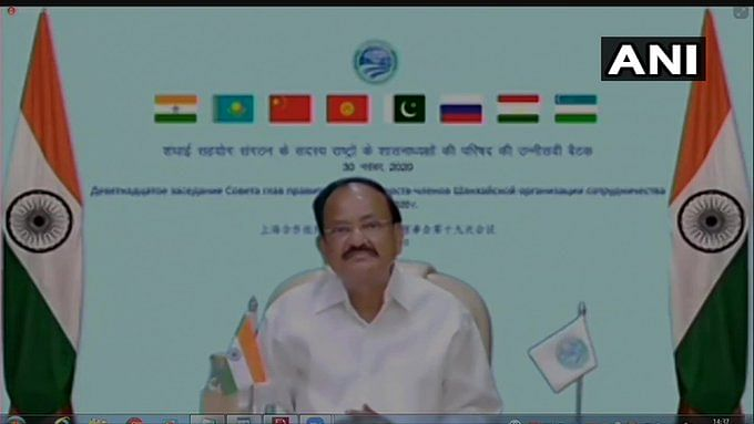 Venkaiah Naidu at SCO meet says Pakistan is using terrorism as an instrument of state policy