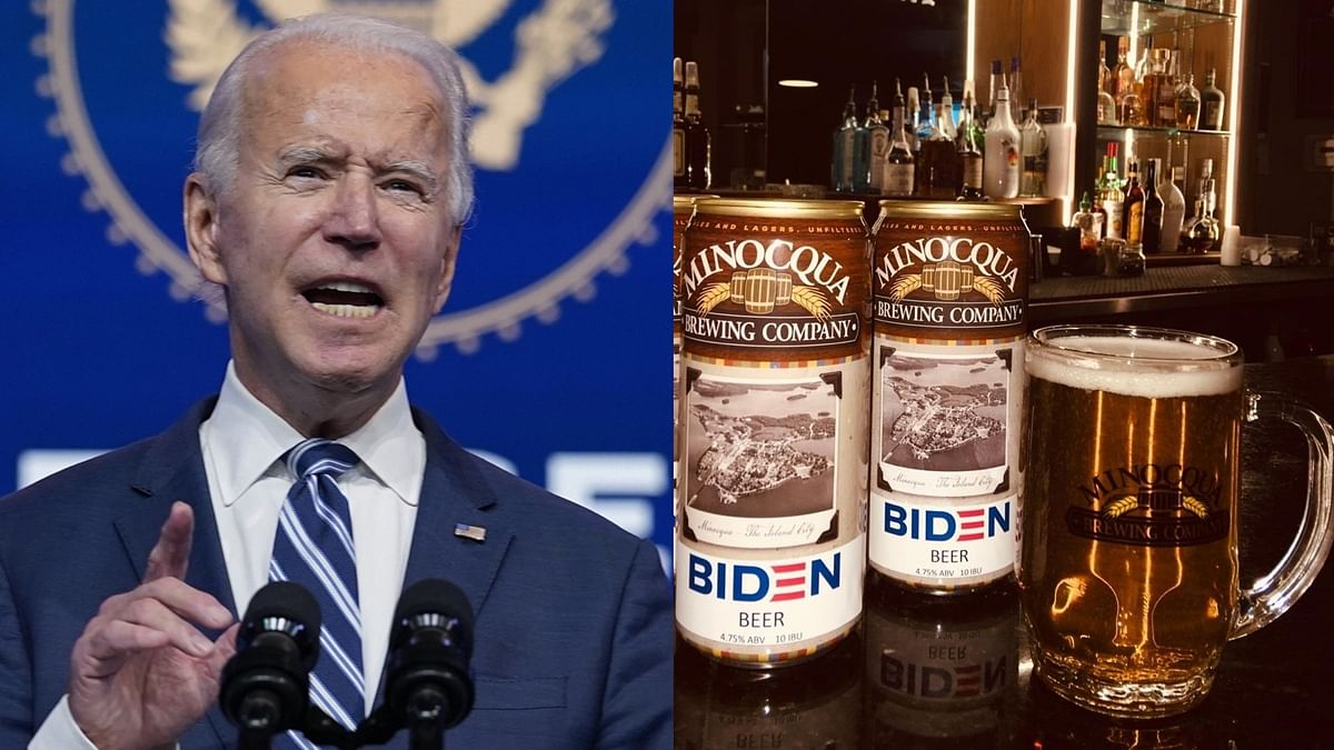 Brewery launches beer named after Joe Biden; describes it as 'inoffensive and not too bitter'