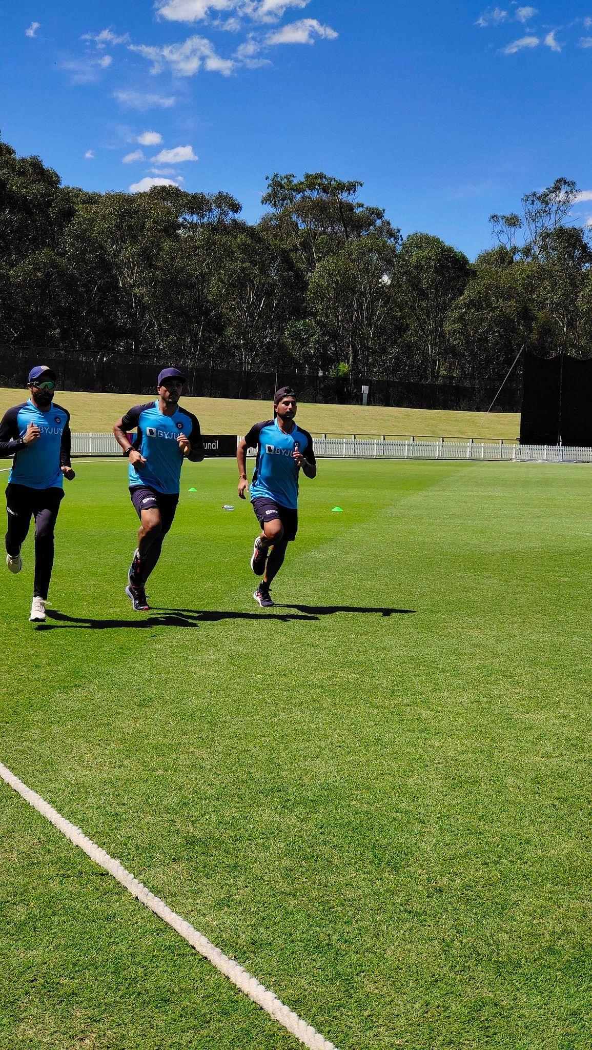 In Pics: Team India begin training sessions in Sydney ahead of Australia tour