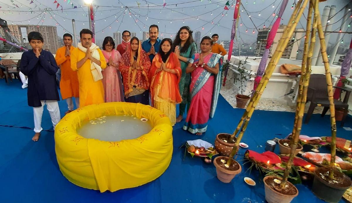 Mumbai celebrates a muted Chhath Puja amid COVID-19 pandemic