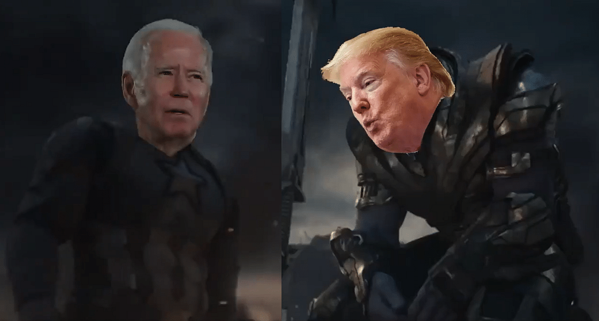 US Election 2020: 'Avengers: Endgame' video featuring Biden as Captain America, Trump as Thanos takes social media by storm