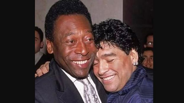 'Hope we can play ball together in the sky one day': Pele pays emotional tribute to Maradona, changes Twitter profile pic