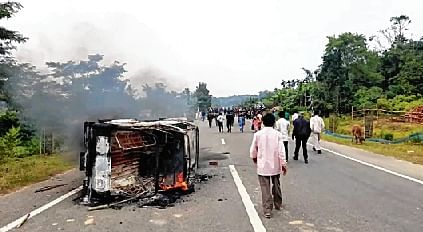 1 dead, 23 hurt in police firing on Tripura protesters