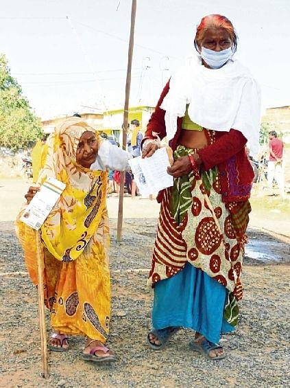 Narabdi Baai, 98, in Raisen district of MP.