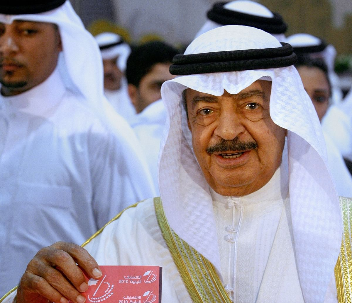Sheikh Khalifa, Bahrain's long-serving Prime Minister, dies at 84