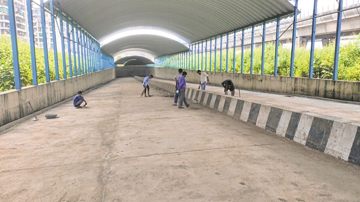 Road-under bridge connecting Taloja-Kharghar likely to open in third week of November