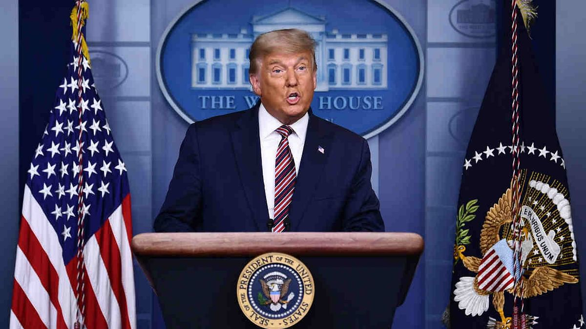 Incumbent President Donald Trump