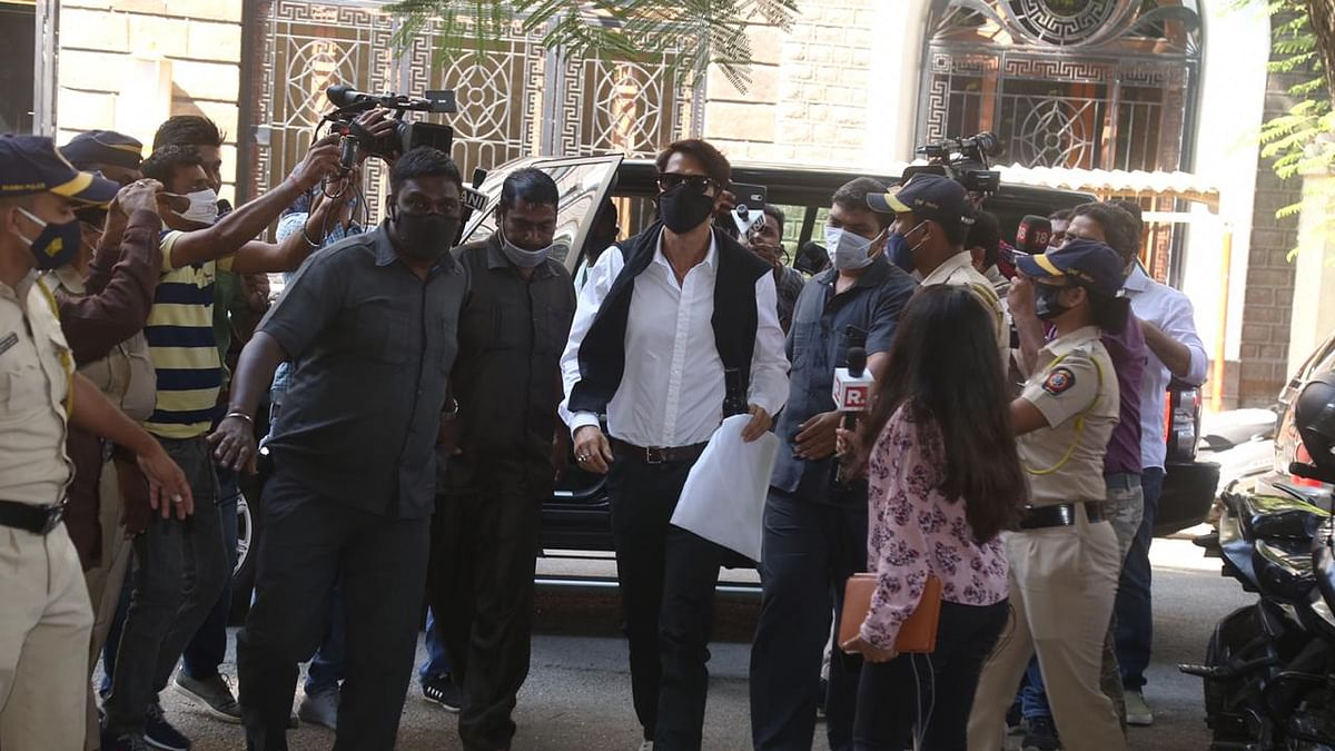 In Pics: Actor Arjun Rampal reaches NCB office for questioning
