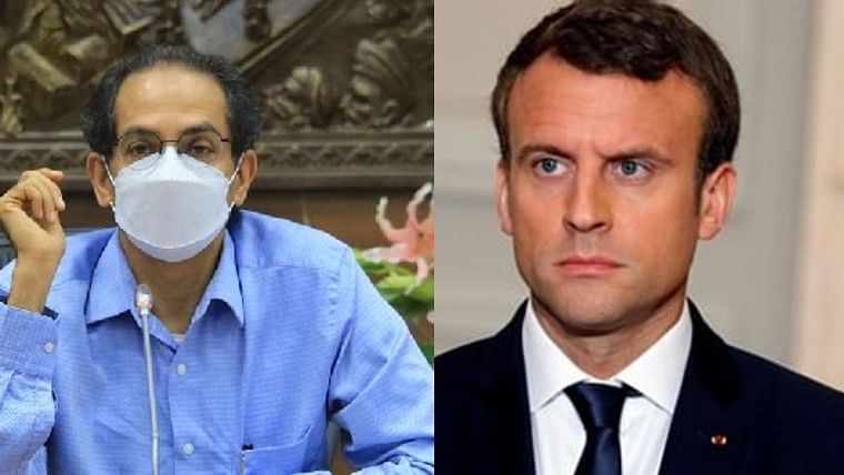 Shiv Sena supports French President Macron over cartoon row, says 'those slitting throats are enemies of humanity'