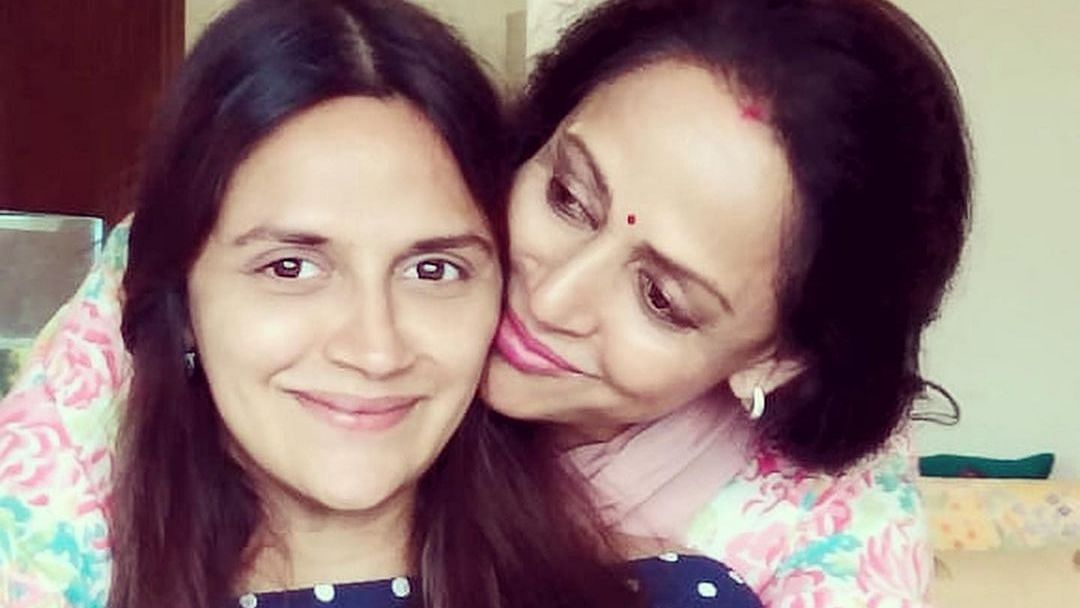 Hema Malini turns grandmother for the fourth time as daughter Ahana gives birth to twins
