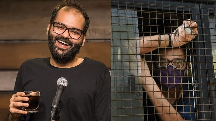 Watch: Kunal Kamra celebrates Arnab's arrest with video featuring Sanjay Raut