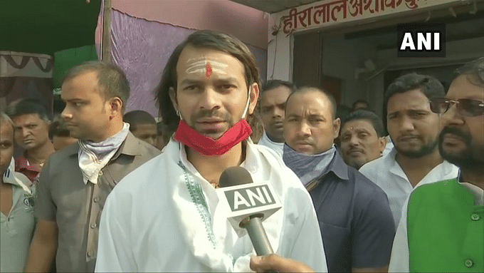 Bihar Election 2020: Tej Pratap Yadav retakes lead against JD(U) opponent in Hasanpur