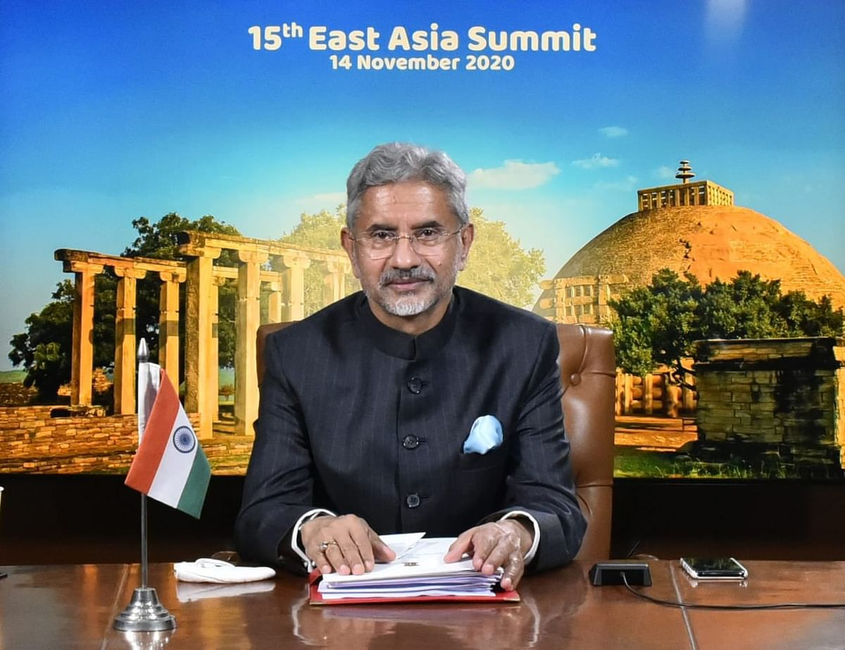 EAM Dr S Jaishankar represented India at the 15th East Asia Summit