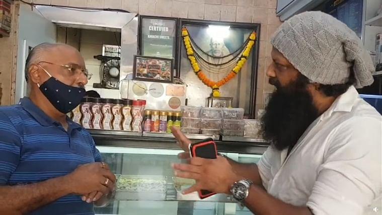 Watch: Shiv Sena leader Nitin Nandgaonkar asks Bandra's Karachi sweets owner to change shop name to 'something in Marathi'