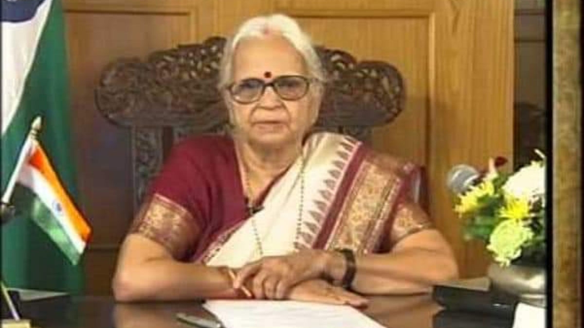 Former Goa Governor Mridula Sinha