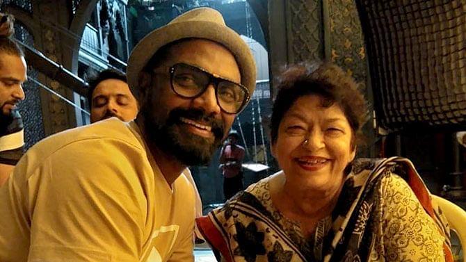 Remo D'Souza says late Saroj Khan wanted him to make her biopic