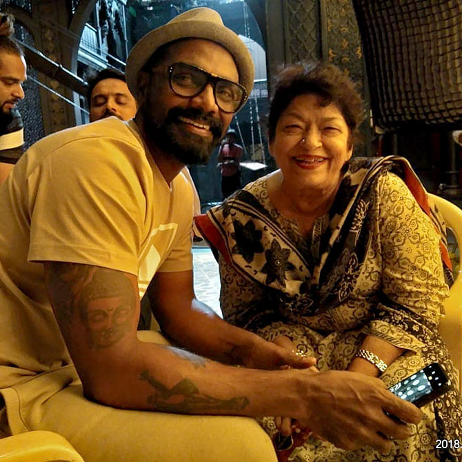 Remo D'Souza says late Saroj Khan wanted him to make her biopic