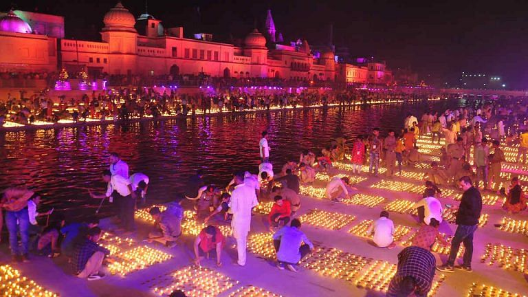 Ayodhya decked up for Diwali, virtual darshan on website