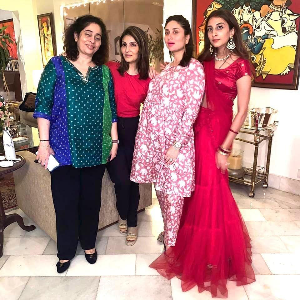 Kareena Kapoor Khan celebrates Karwa Chauth with family get-together; see pics