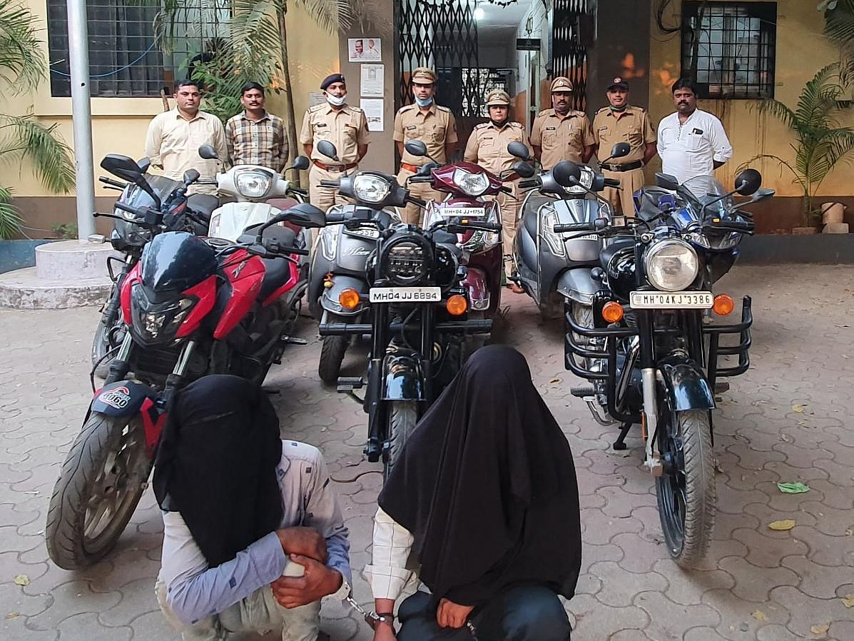 Thane crime watch: Bike thieves booked in nine cases arrested in Bhiwandi