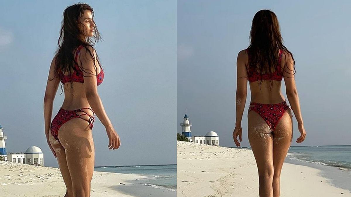 Disha Patani treats fans with sizzling bikini pics from her exotic vacay