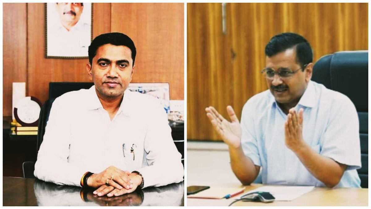 Arvind Kejriwal and Goa CM Pramod Sawant engage in war of words over air pollution on Twitter