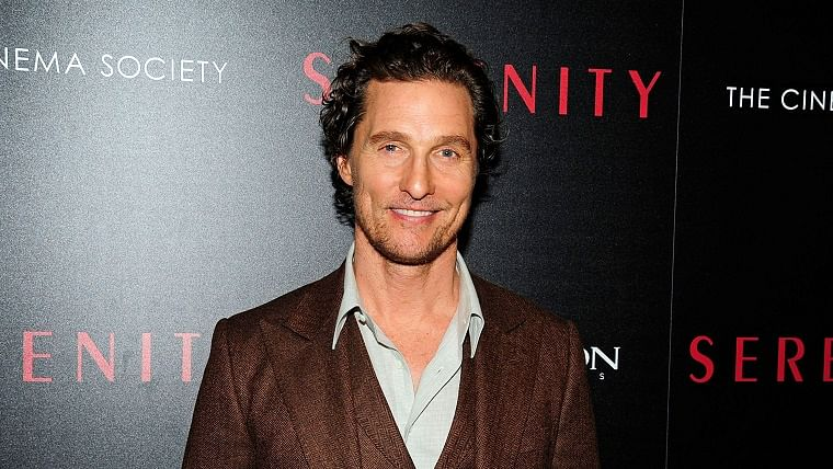 Matthew McConaughey wants to become a stand-up comedian