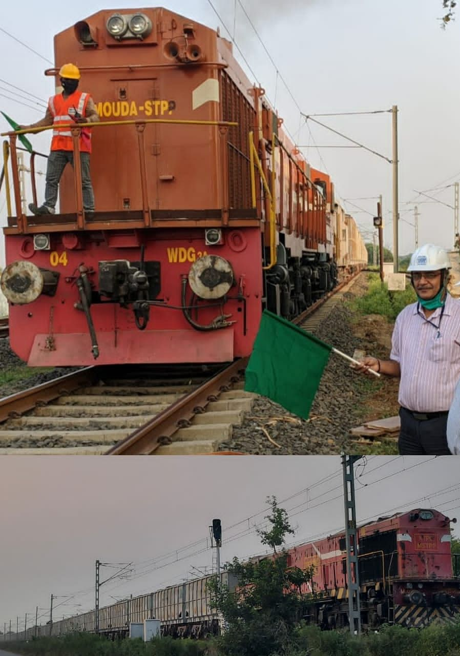 NTPC increases fly ash utilisation as power stations begin rail transport of the derivate