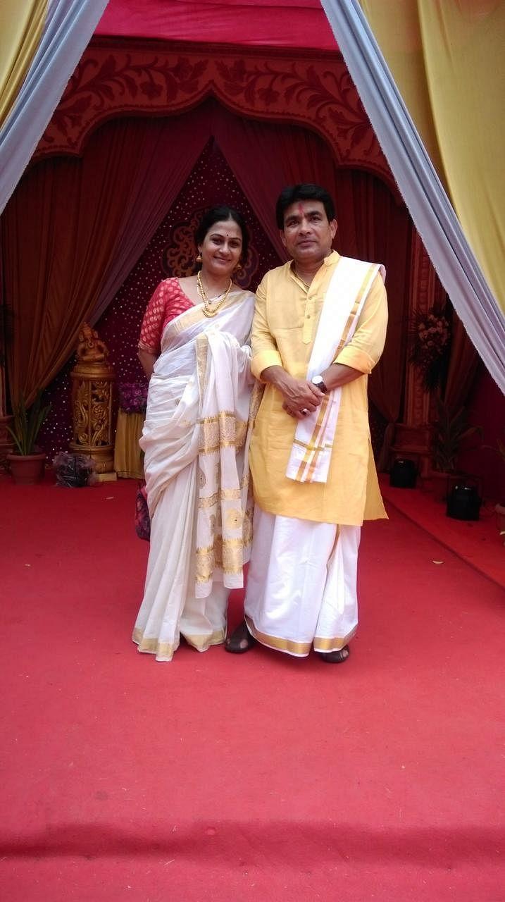 Indira and Javed Beg