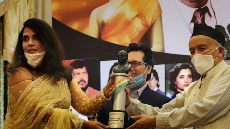 'Woke up late to the greatness of Babasaheb': Richa Chadha receives Bharat Ratna Dr Ambedkar Award