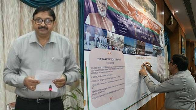 Western Railway observes Constitution Day with great enthusiasm