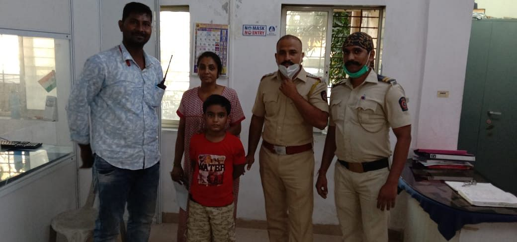 Boy leaves home after mom's scolding, traced in three hours
