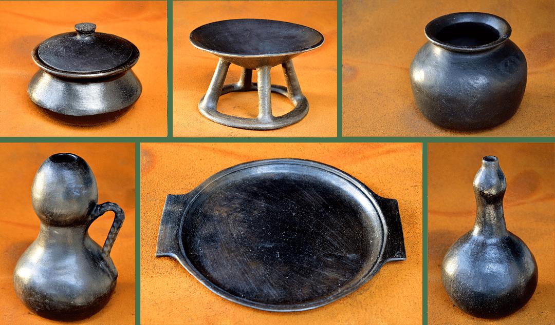 Manipur's Longpi Pottery exhibited at Indira Gandhi Rashtriya Manav Sangrahalaya (IGRMS) in Bhopal