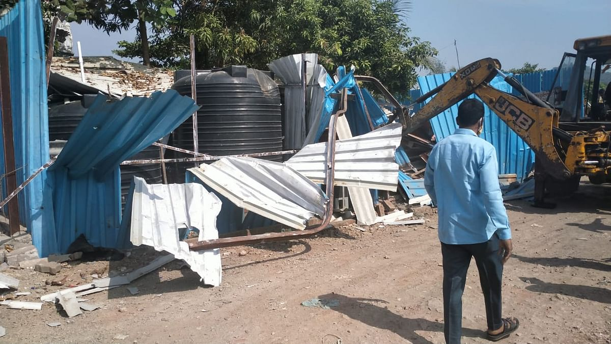 Mira Bhayandar: MBMC stumbles upon illegal water plant during demolition