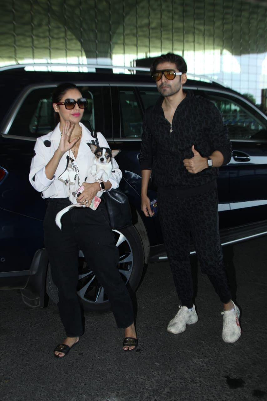 In Pic: Sanjay Leela Bhansali, Madhuri Dixit, Rakul Preet Singh and others snapped by paparazzi in Mumbai