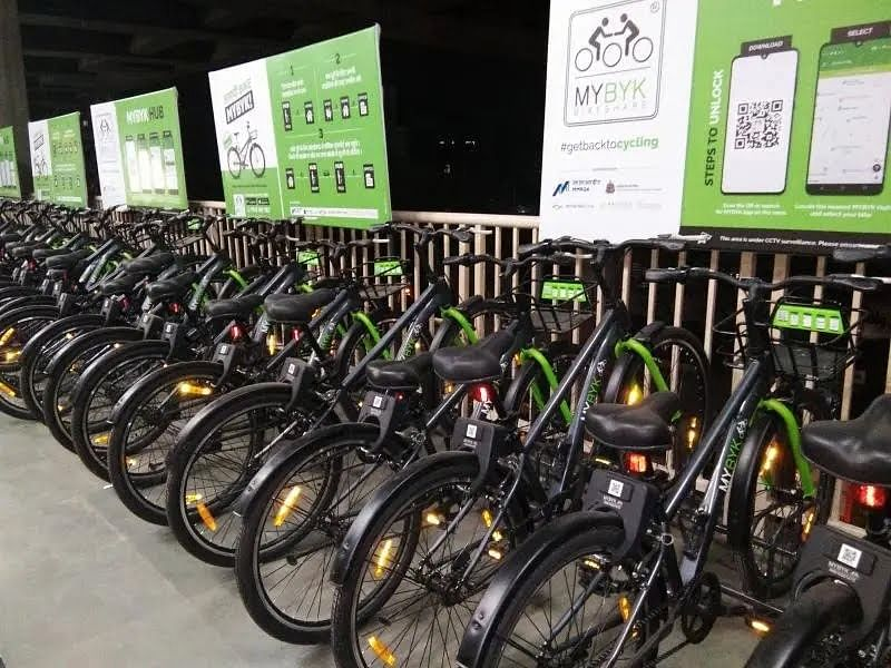 'Rent a cycle' resumes ops at Jagruti Nagar