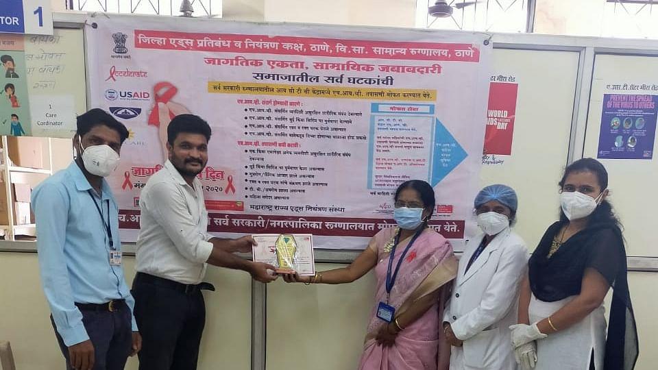 AIDS Control: MBMC-run Indira Gandhi Hospital bags top spot in district