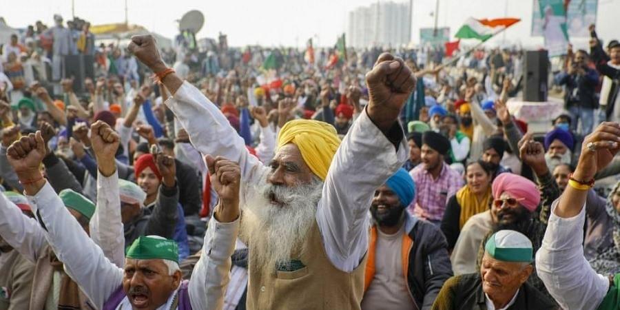 Day 29 of farmers' protest in Delhi