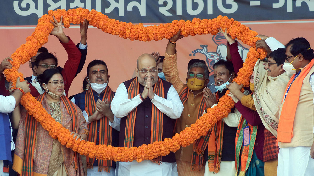 Didi will be left alone by the time polls come: Shah