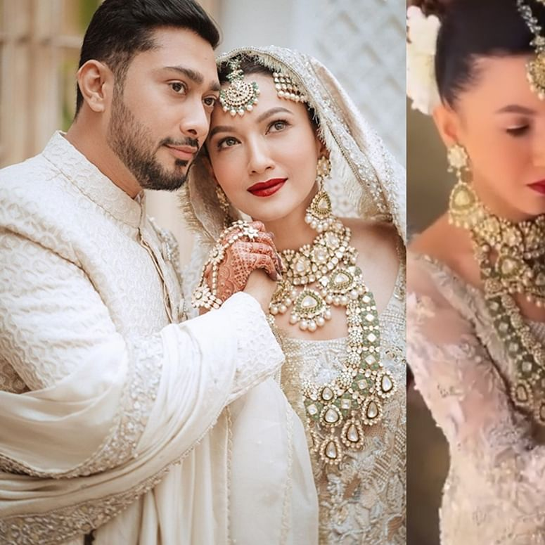 Watch: Gauahar Khan does hubby Zaid Darbar's makeup before nikaah ceremony