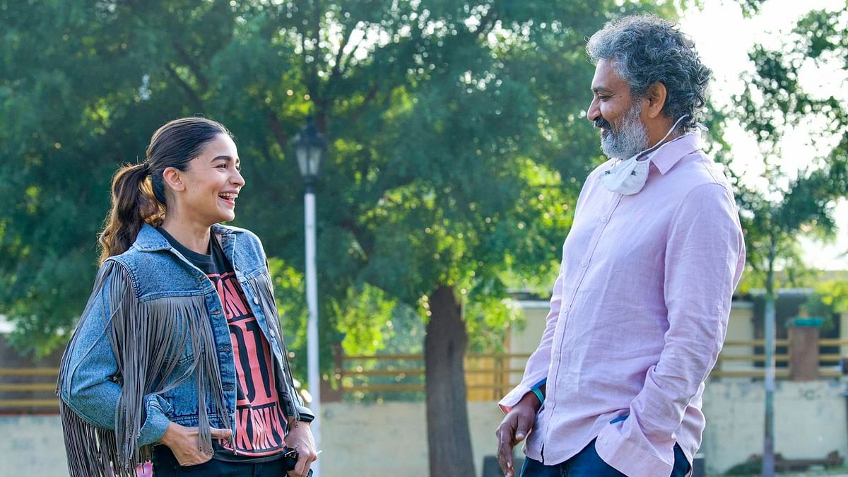 Alia Bhatt kickstarts shooting for her role as 'Sita' in SS Rajamouli's 'RRR'
