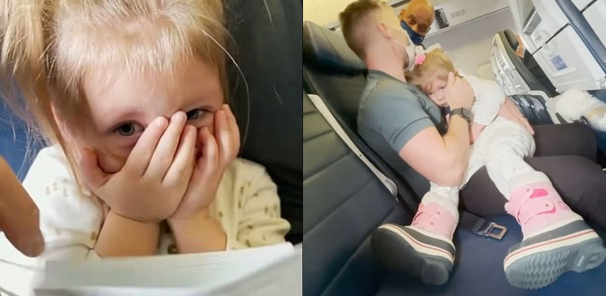 'She is crying...': US couple on the way to New Jersey asked to deboard flight as two-year-old daughter refuses to wear mask
