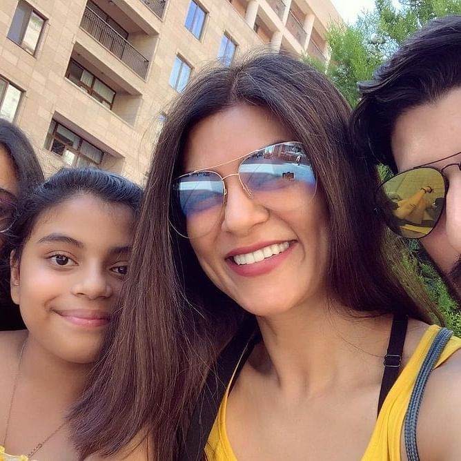 Some 'idiot' hacked Sushmita Sen's daughter Renee's Instagram account – here's what happened next