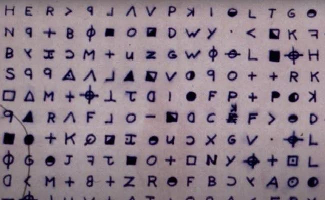 'Zodiac Killer' code