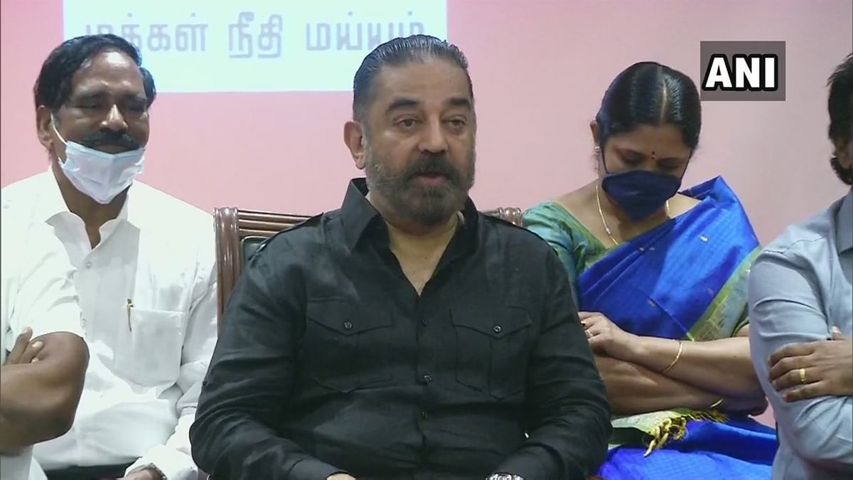 'No tie-up with Kazhagam parties': Kamal Haasan rules out alliance with DMK, AIADMK for Tamil Nadu polls