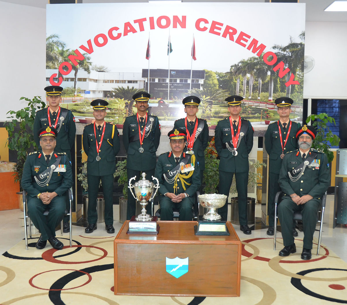 Indore: Convocation ceremony held at MCTE in Mhow on Dec 5