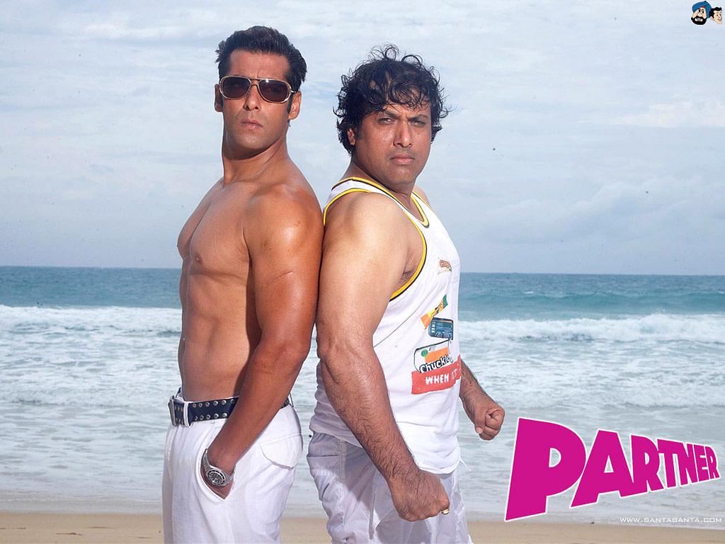 Salman Khan and Govinda in Partner
