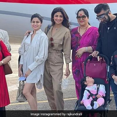 'Time to shut up and bounce': Shilpa Shetty, family off to Goa on vacation