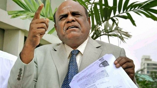 Former High Court judge CS Karnan arrested for abusing judicial officers